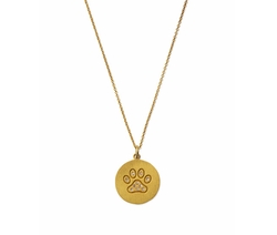 Paw Disc Pendant Necklace by Roberto Coin in Fuller House