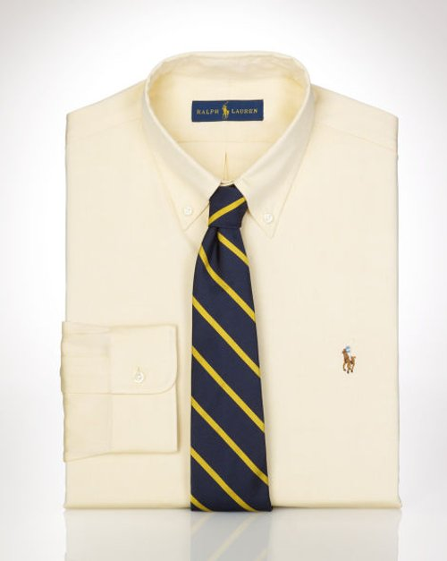 Slim-Fit Oxford Dress Shirt by Ralph Lauren in Hall Pass