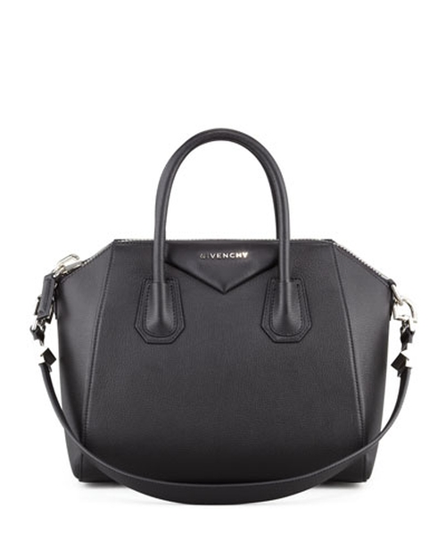 Antigona Small Sugar Goatskin Satchel Bag by Givenchy in Suits - Season 5 Episode 10