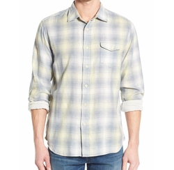 Drake Trim Fit Double Woven Sport Shirt by Grayers in Modern Family