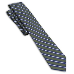 Heritage Striped Tie by Haggar in The Good Wife
