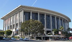 Los Angeles, California by Dorothy Chandler Pavilion in (500) Days of Summer