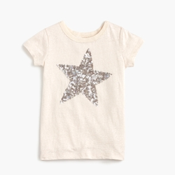 Girls' Sequin Star T-Shirt by J.Crew in Modern Family