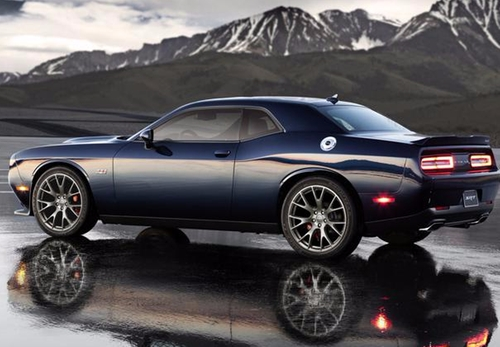 Challerger SRT 392 Coupe by Dodge in Teenage Mutant Ninja Turtles: Out of the Shadows