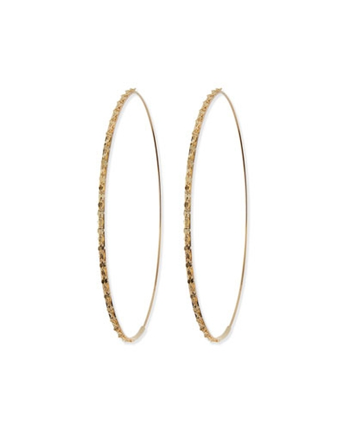Large Glam Hoop Earrings by Lana in Sex and the City