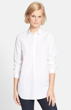 'The Easy' Cotton Poplin Shirt by AYR in The Women