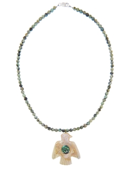 Michiels Soaring Bird Necklace by Catherine in Forgetting Sarah Marshall