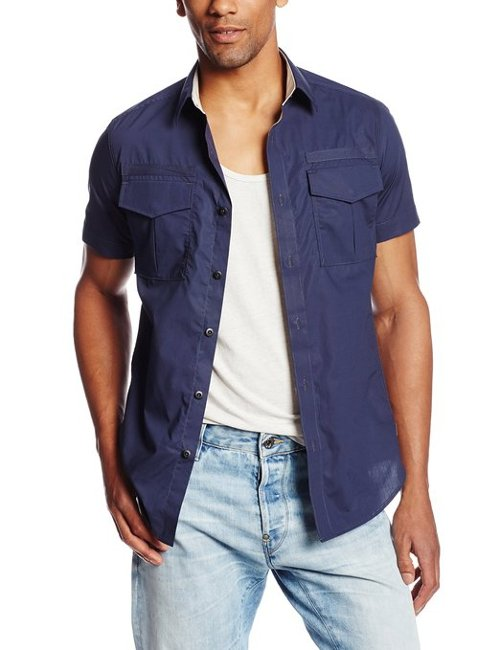Men's Bridgem Short Sleeve Shirt by G-Star Raw in Furious 7