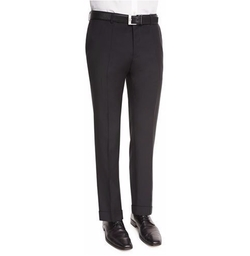 Genesis Slim-Fit Wool Trousers by Boss in Molly's Game