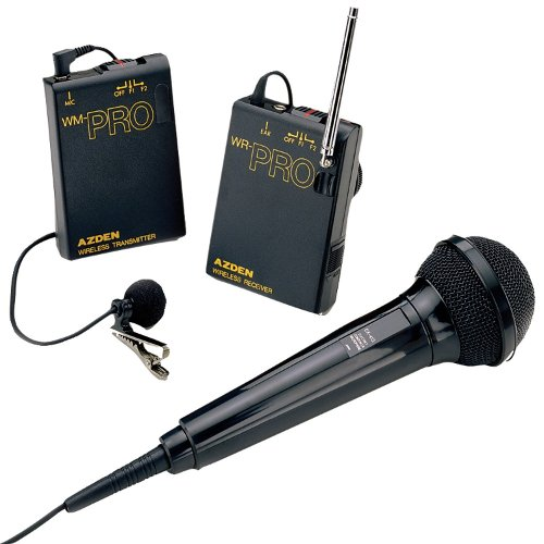 Wireless Microphone System by Azden in Pitch Perfect 2