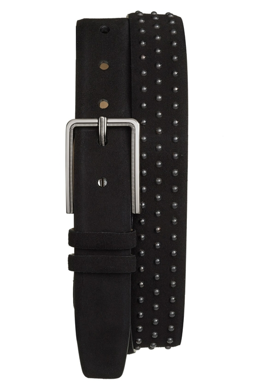 Studded Suede Belt by Mezlan in Empire - Season 2 Episode 10