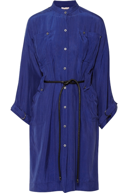 Silk Shirt Dress by Matthew Williamson in Unfinished Business