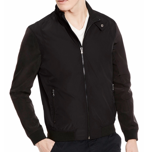 Reversible Bomber Jacket by Kenneth Cole New York in Criminal