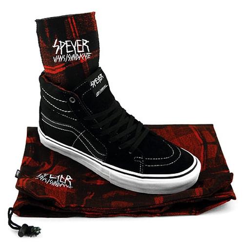 "Wade Speyer Pack Sk8-Hi 91 CF ""S"" Shoes by Vans Syndicate in Brick Mansions"