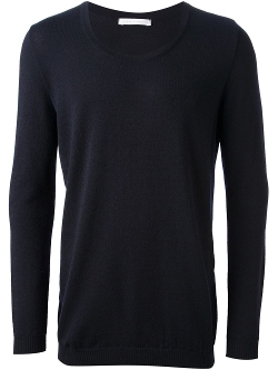 Round Neck Sweater by Société Anonyme in The Overnight