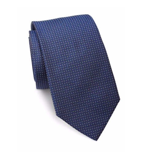 Textured Silk Tie by Ralph Lauren in Suits - Season 6 Episode 4