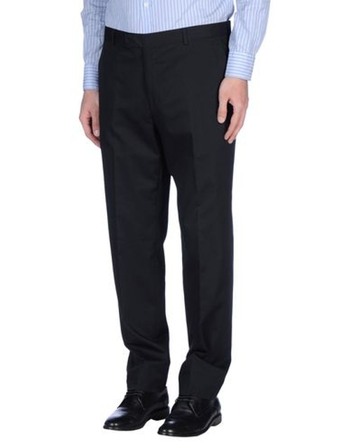 Casual Chino Pants by Reporter in Black Mass
