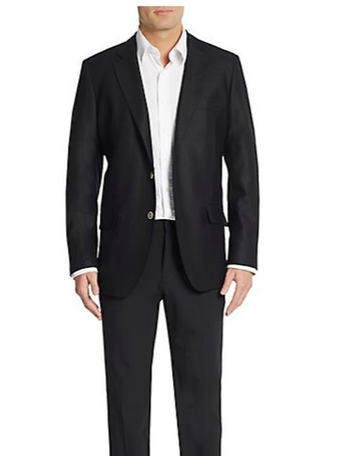 Slim-Fit Textured Wool Sport Coat by Saks Fifth Avenue in How To Get Away With Murder