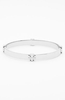 Logo Bangle Bracelet by Tory Burch in Magic Mike XXL