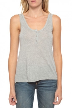 Henley Tank Top by Frame  in Modern Family