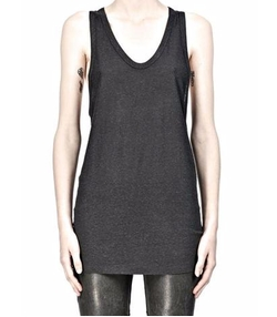 Slub Classic Tank Top by T By Alexander Wang in Keeping Up With The Kardashians