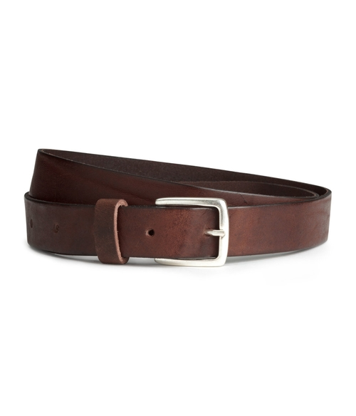 Leather Belt by H&M in The Revenant