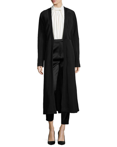 Matelasse Fitted Long Coat by Jason Wu  in Keeping Up With The Kardashians - Season 12 Episode 12