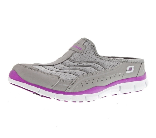 Gratis Lights Out Womens Sneaker Clogs by Skechers in The Visit