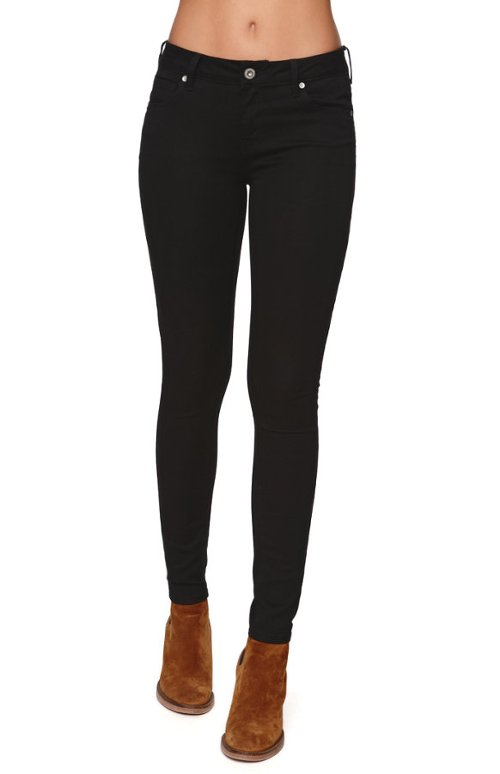 Low Rise Skinniest Starry Black Jeans by Bullhead Denim Co in If I Stay