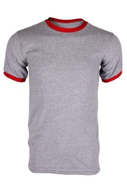 Men's Classic Ringer T-Shirt by G Zap in McFarland, USA
