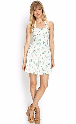 Floral Print Halter Dress by Forever21 in Jane the Virgin