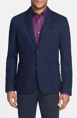 Tlim Fit Jersey Blazer by Ted Baker London in The Other Woman