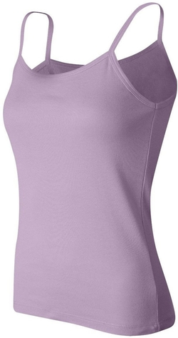 Ladies' 1x1 Rib Spaghetti-Strap Tank Top by Bella in Gone Girl
