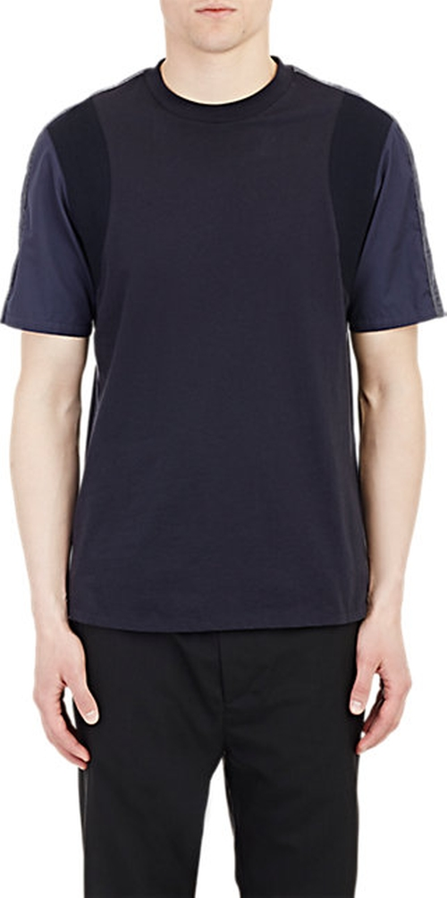 Jacquard-Shoulder T-Shirt by Oamc in Everybody Wants Some