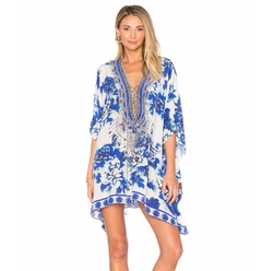Short Lace Up Caftan by Camilla in Grace and Frankie