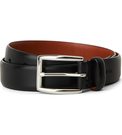 Embossed-Logo Belt by Ralph Lauren in Arrow