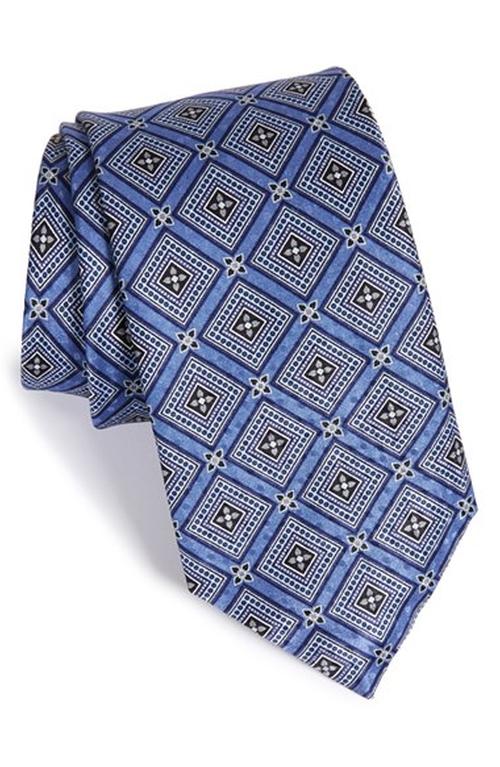 Geometric Silk Tie by J.Z. Richards in The Nice Guys