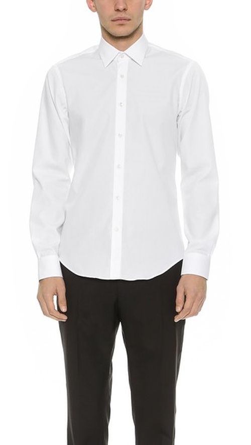 Bluff Collar Shirt by Mr. Start in Steve Jobs