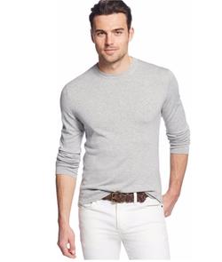 Men's Long-Sleeve Sweater by Michael Kors in Joshy