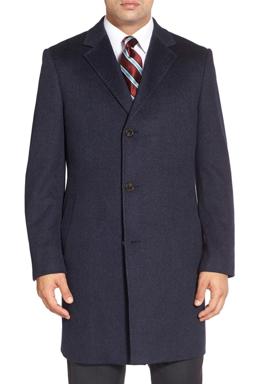 Cashmere Twill Overcoat by John W. Nordstrom in Suits - Season 5 Episode 14
