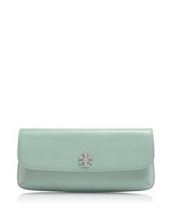 Diana Slim Saffiano Clutch Bag by Tory Burch in Bridesmaids