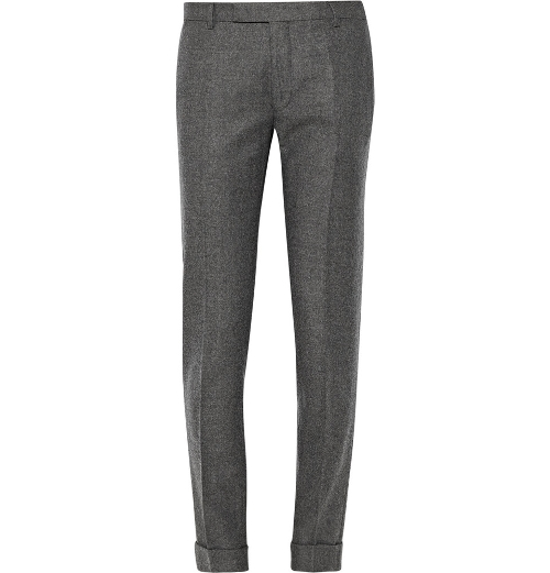 Slim-Fit Wool Suit Trousers by Gant Rugger in Ant-Man