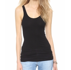 Ribbed Daily Tank Top by James Perse in Jessica Jones