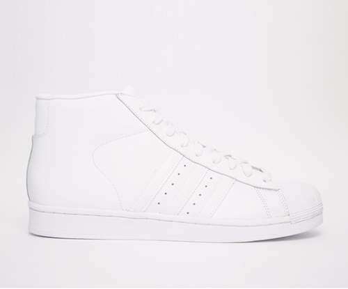 Promodel Hi-Top Sneakers by Adidas Originals in Popstar: Never Stop Never Stopping