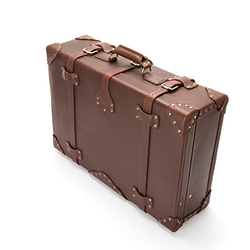 Leather Large Suitcase by Saddleback Leather Co. in By the Sea