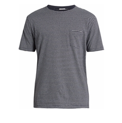 Striped Cotton-Jersey T-Shirt by Sunspel in Master of None