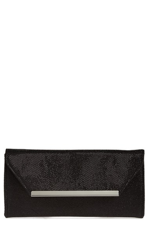 Metallic Envelope Clutch by Glint in Pretty Little Liars - Season 6 Episode 10