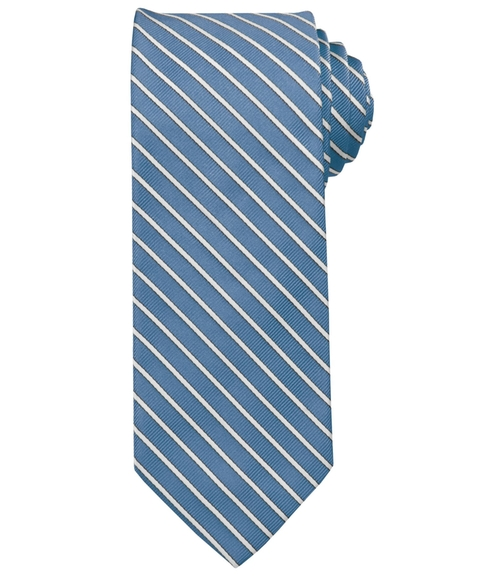 Heritage Collection Thin White Stripe Tie by Jos A. Bank in Scandal - Season 5 Episode 1