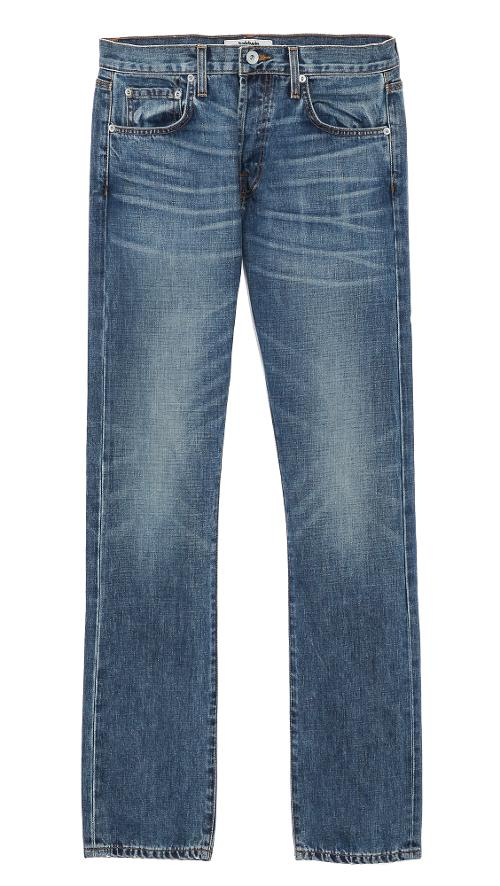 Henley Light Wash Jeans by Baldwin Denim in Addicted
