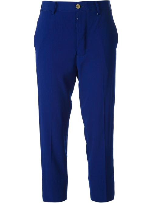 'Miss Plates' Cropped Trousers by +PEOPLE in And So It Goes